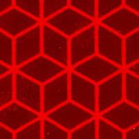Fényvisszaverő szalag VC104 vörös